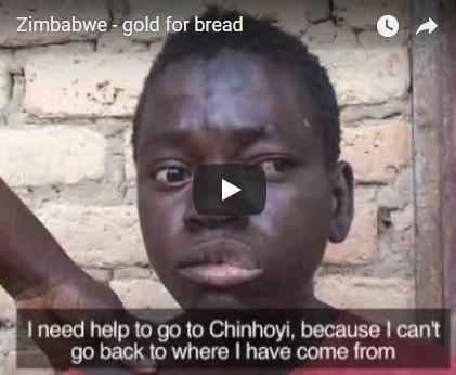 Gold Simbabwe Brot