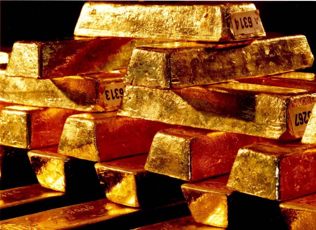 Gold, Goldbarren, 400 Unzen, Bundesbank