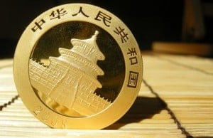 Goldmünze, China (Foto: Goldreporter)