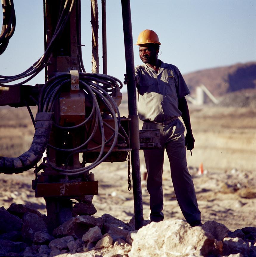Gold-Exploration in Südafrika (Foto: AngloGold Ashanti)