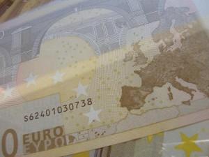 Euro Banknote Spanien