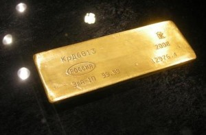 Gold, Russland, Goldbarren (Foto: Goldreporter)
