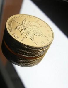 Maple Leaf Goldmünzen