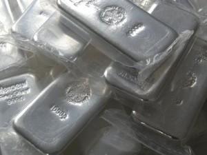 Silber, Silberbarren