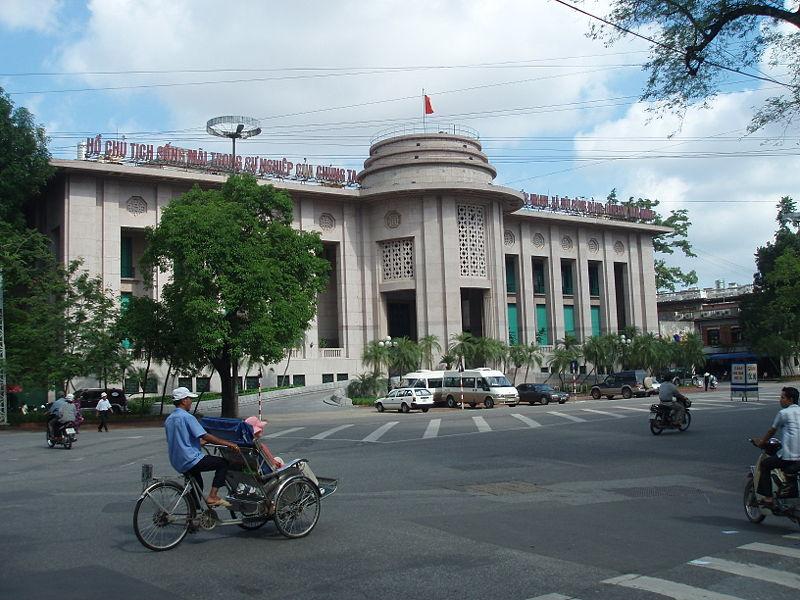 Geschäftsgebäude der State Bank of Viet Nam in Hanoi