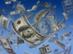 Dollar-Regen per QE2 (Foto: Orlando Florin Rosu - Fotolia.com)