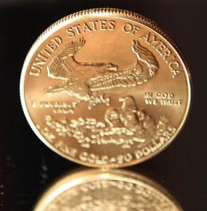 Gold, Goldmünze, American Eagle (Foto: Goldreporter)