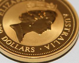 Goldmünze Kanguru: Australier wissen den Wert des Goldes zu schätzen.