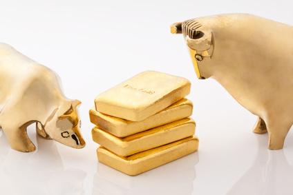 Bulle und Bär Gold