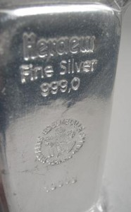 Silber, Türkei, Silberbarren (Foto: Goldreporter)