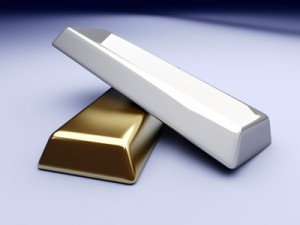 Gold- und Silber-Margins