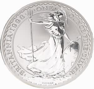 Die Royal Mint ist Hersteller der Britannia-Anlagemünze (Gold und Silber)