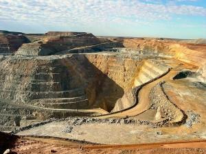 Super Pit Gold Mine Australien