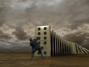 Krisen-Domino © klick - Fotolia.com