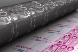 Wenn sich die politische Lösung durchsetzt, dann kommt die staatliche Notenpresse.