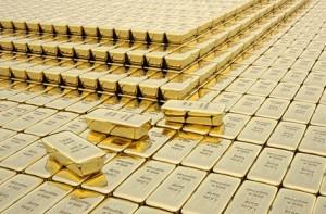 Gold, Goldreserven, Goldbarren, Zentralbank