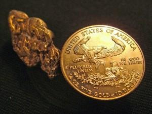 Goldmünze American Eagle Gold Nugget