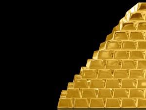 Gold, Aktien