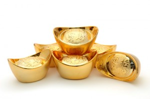 Chinesische Goldbarren Norman Chan - Fotolia.com