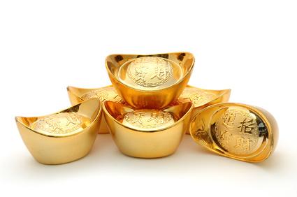 Chinesische Goldbarren © Norman Chan - Fotolia.com