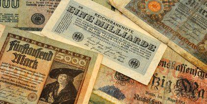 Inflation, Geld