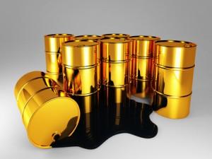Gold, Öl