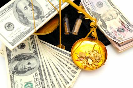 Gold Dollar bendicks - Fotolia.com