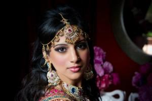 Indische Braut: In den kommenden Monaten wird in Indien viel geheiratet und jede Menge Gold verschenkt.