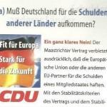 CDU WERBUNG 99