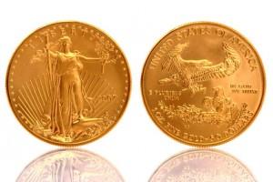 American Gold Eagle 1 oz Fine Gold Coin