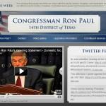 RonPaul Website