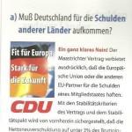 CDU WERBUNG 1999