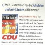 CDU WAHLWERBUNG 1999