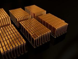 SPDR Gold Trust, Goldbarren