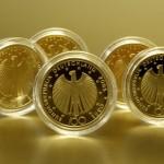 100-Euro-Goldmünzen © thombach – Fotolia.com