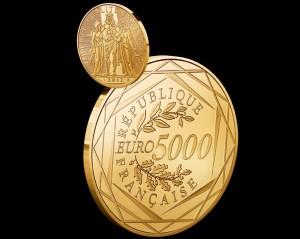 Frankreich Gibt Gold Und Silbermünzen Mit Hohem Euro Nominal Aus