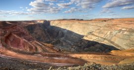 Gold, Goldproduktion, Mine