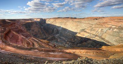 Gold, Förderung, USA, Mine