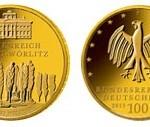 100-Euro-Goldmünze Dessau-Wörlitz