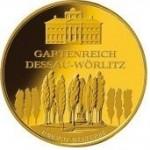 100-Euro-Goldmünze Dessau-Wörlitz v