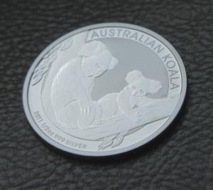 Koala Silbermünze (Foto: Goldreporter)