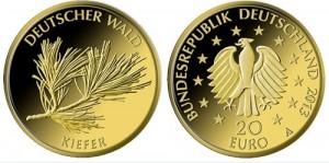 20-Euro-Goldmuenze Kiefer (Foto: BMF)