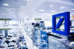 Handelsraum (Foto: Deutsche Bank)