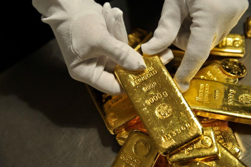 Goldbarren (Foto: Bernd Schuller - Pro Aurum)