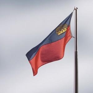 Liechtenstein-Flagge (Foto: Philoro)