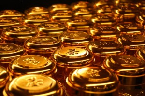China Goldbarren