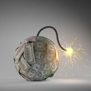 Schuldenexplosion (Mopic - Fotolia.com)