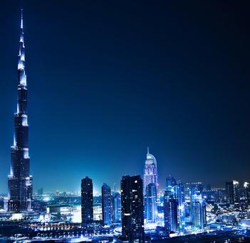 Dubai Stadt, Hochhaus