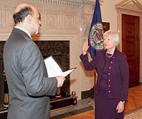 Janet Yellen Bernanke
