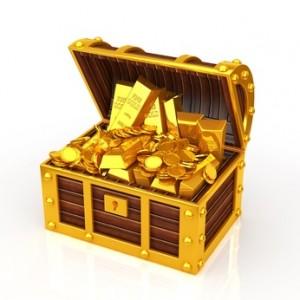 Goldschatz  (Foto: lovebeer - Fotolia.com)